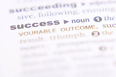 Dictionary Definition of Success