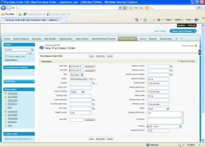 Ascent Purchase Orders are produced on-screen and published via Conga templates